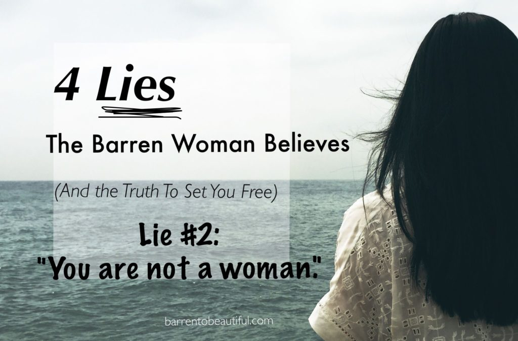 Lie 2 Not a woman